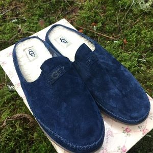 NWOT! Royal blue ugg slippers